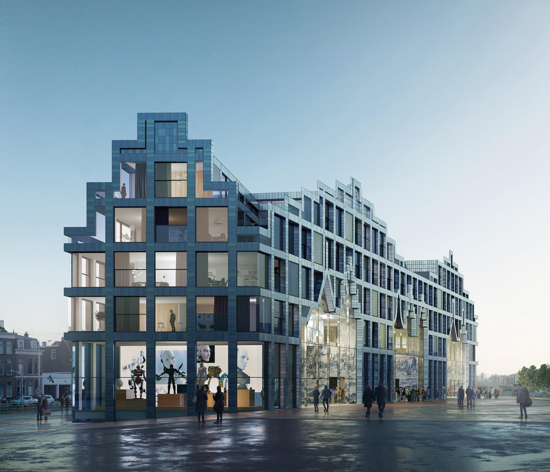 Impressie van het huis van Delft