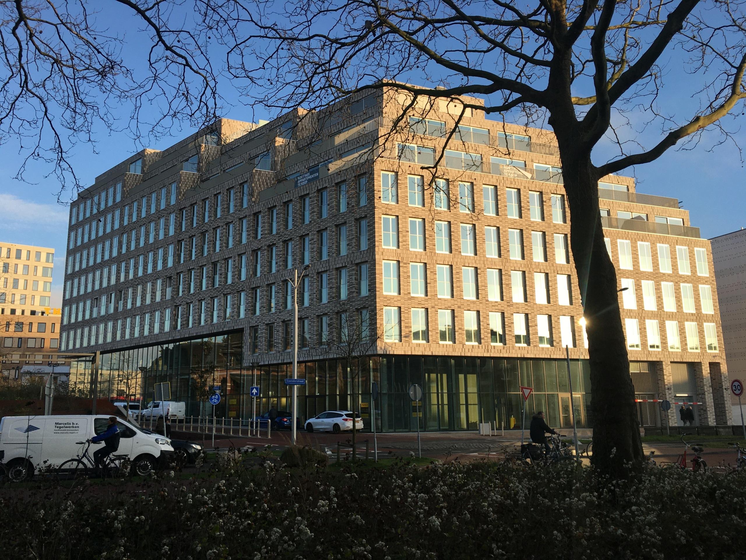 het gebouw Antoni in Nieuw Delft
