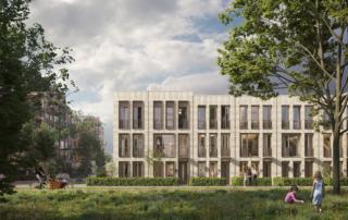 Impressie van PoortMeesters, een stadswoning met 3 lagen in Nieuw Delft