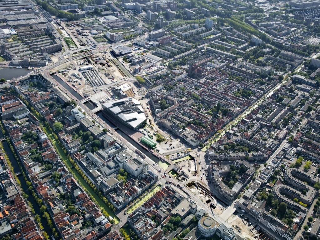 Luchtfoto Nieuw Delft