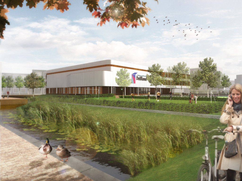 Impressie van het Delftland college