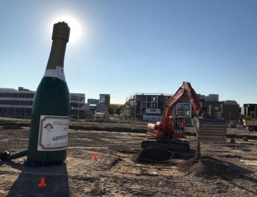 Feestelijke start bouw Guldenwater