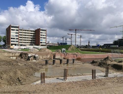Mei – september: Bouw verkeersbrug Abtswoudse Hof
