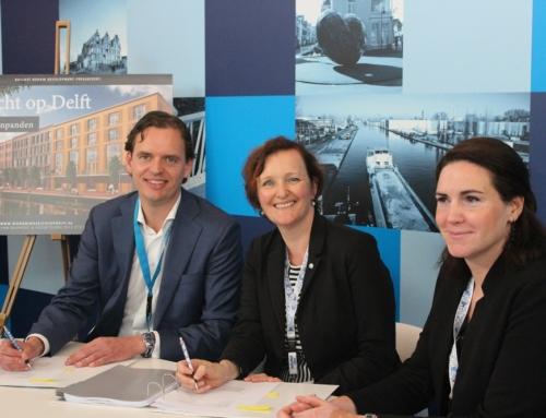 Gemeente Delft sluit drie overeenkomsten voor Nieuw Delft op PROVADA