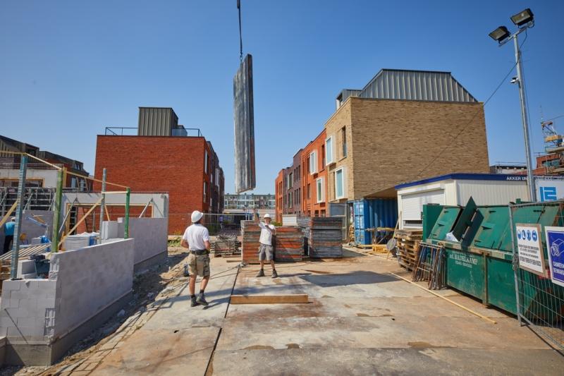 Foto van een bouwplaats