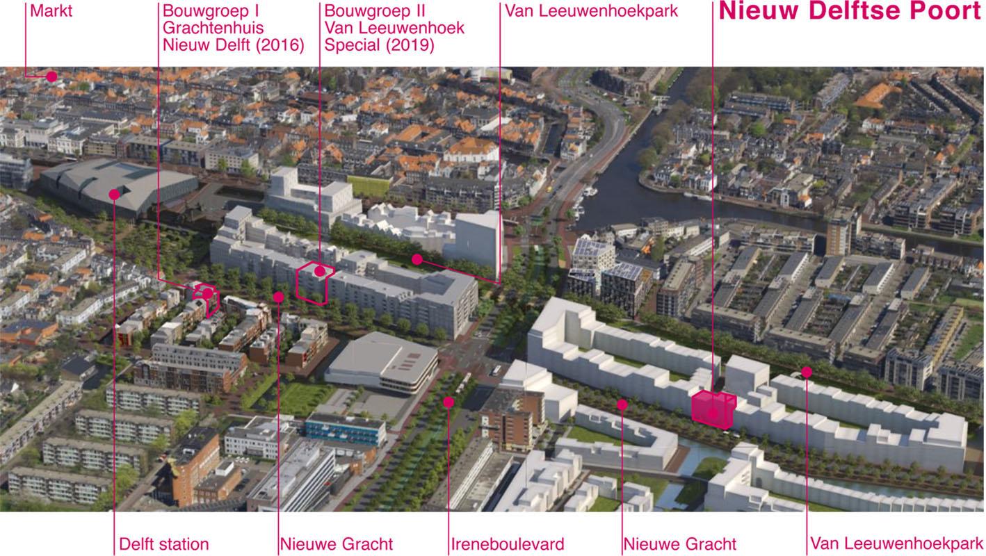 locatie CPO Nieuw Delftse Poort in Veld 6