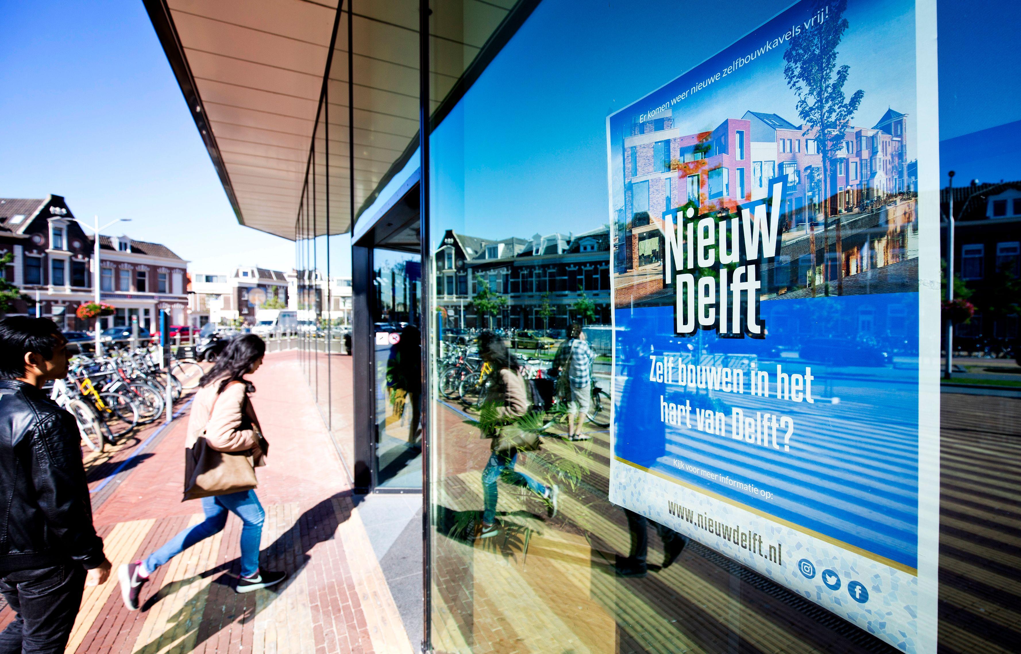 Poster van Nieuw Delft
