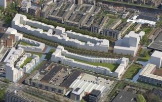 Impressie van het zuidelijke deel van Nieuw Delft