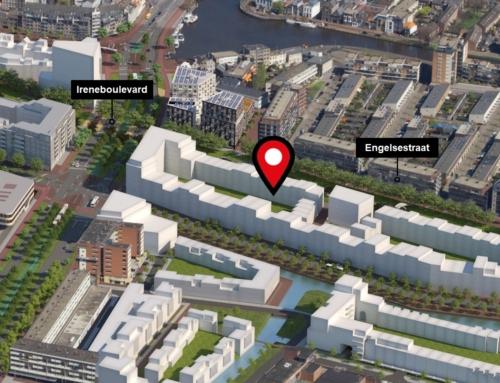 Mobiliteitshub voor zelfbouwers en omgeving in Nieuw Delft