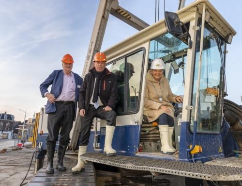 Start bouw Huis van Delft gevierd