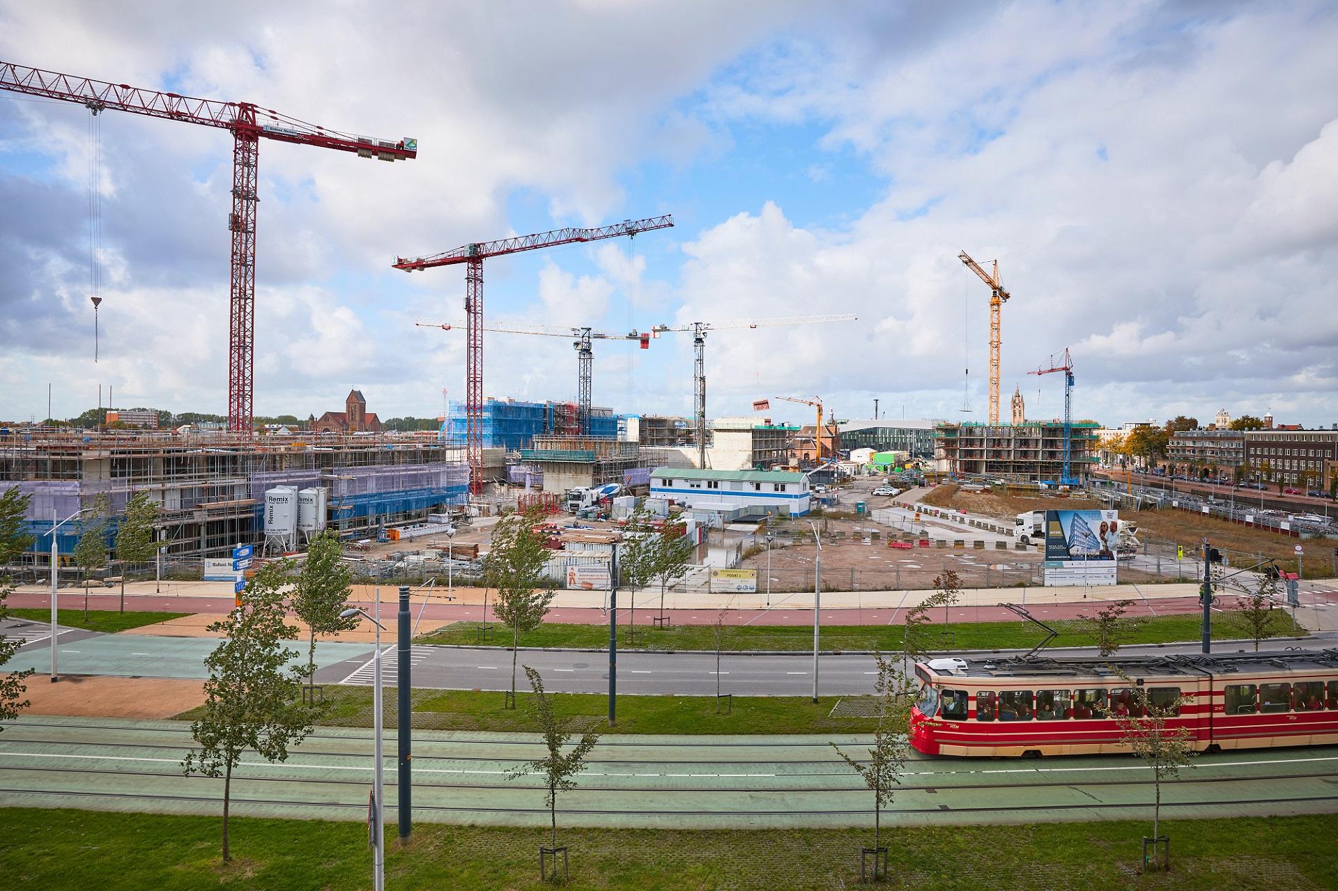 Nieuw Delft uitzicht uitkijktoren