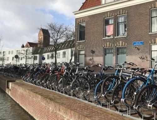 Extra fietsenrekken Ada van Hollandstraat