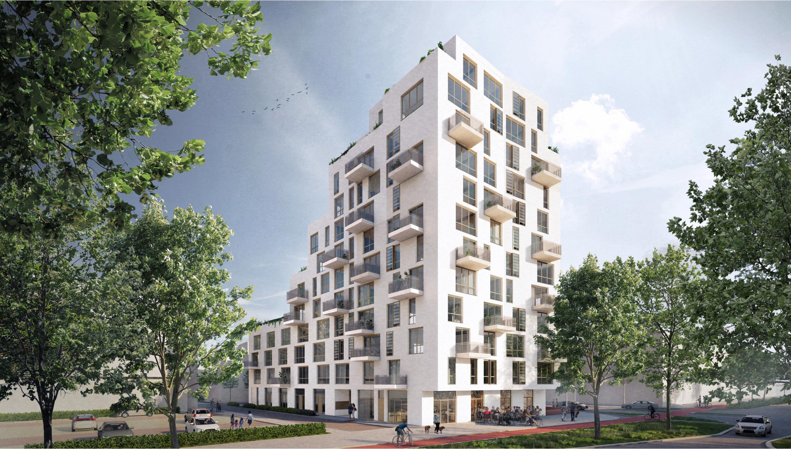 Impressie van Porseleinen Hof in Nieuw Delft