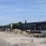 Bouwplaats van het toekomige Kruikhuis in Nieuw Delft