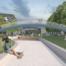 Impressie van het Van Leeuwenhoek park