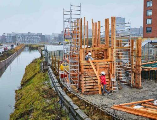 Nieuw Delft krijgt circulaire uitkijktoren