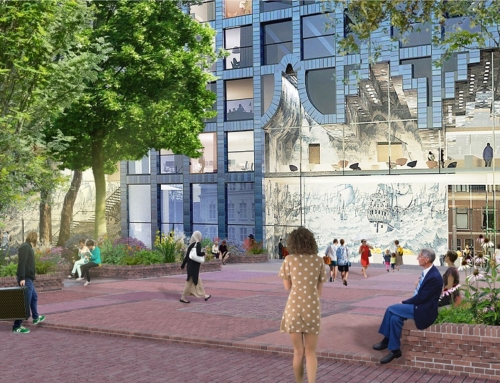 Tuin van Delft gekozen als schetsontwerp voor Houttuinen