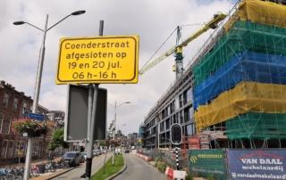Omleidingsbord Coenderstraat
