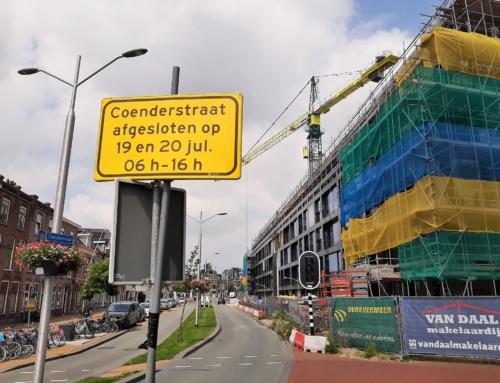 19 en 20 juli: Coenderstraat gedeeltelijk afgesloten