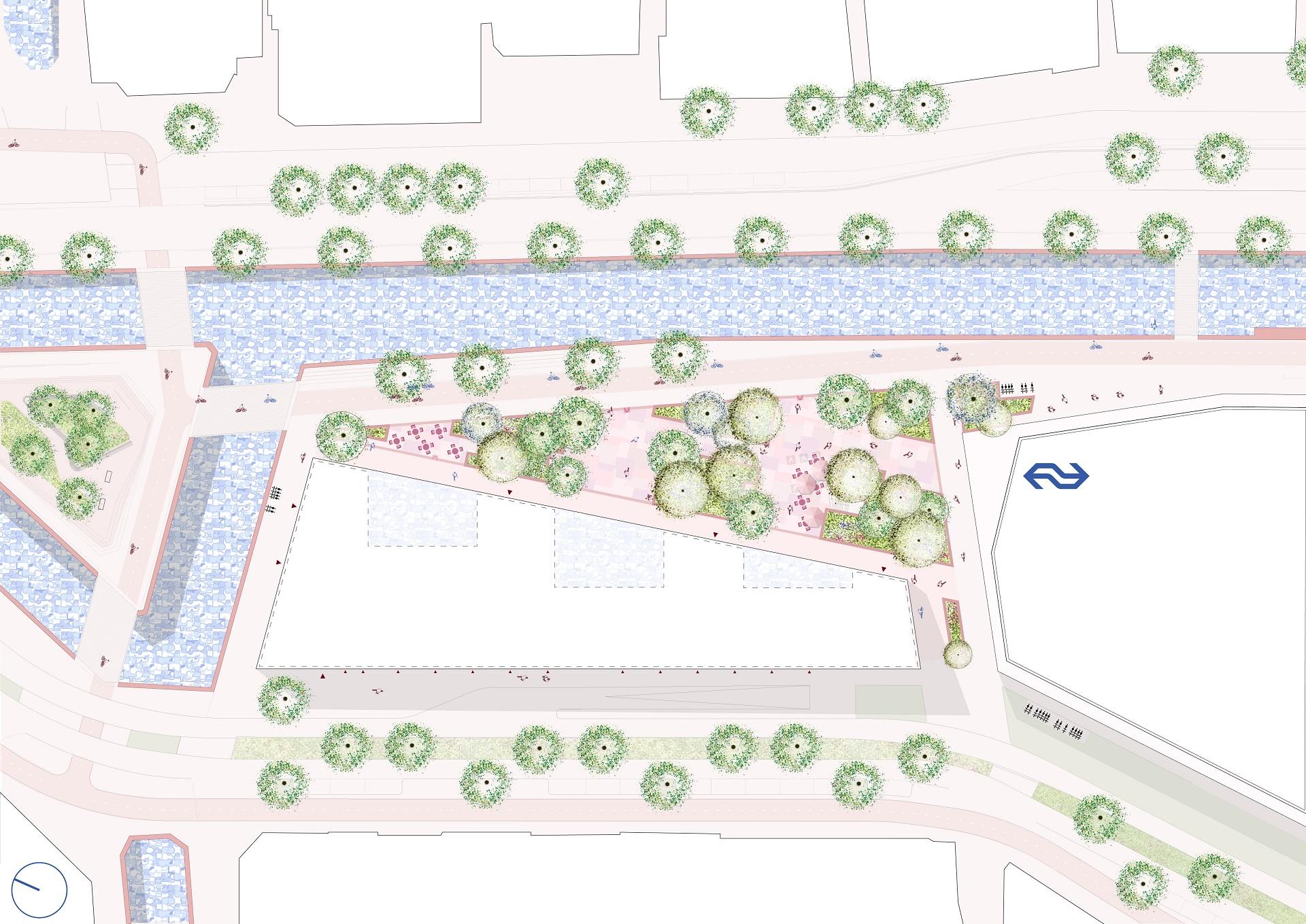 Plattegrond Tuin van Delft